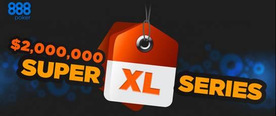888 Poker $2 Million Super XL Tournament Series