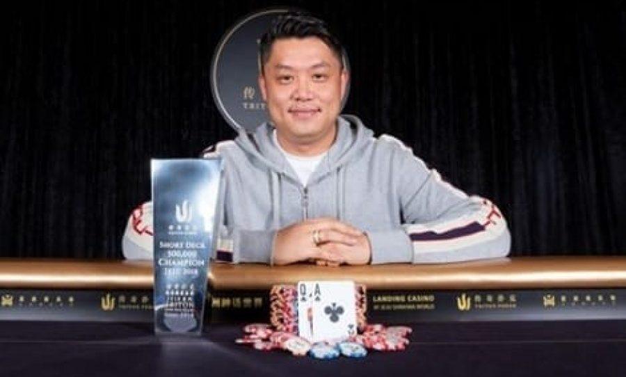 Ivan Leow Wins Triton Poker Super High Roller Series Jeju HK$500K For HK$8.47 Million