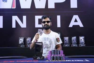 Winner of 2018 WPT India ₹35K Superstack - Abhishek Jalan