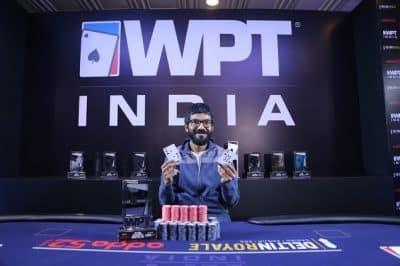 Winner of 2018 WPT India ₹20K Kickoff - Aditya Sushant
