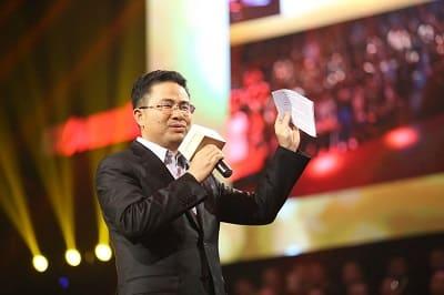 Gionee's Chairman Liu Lirong