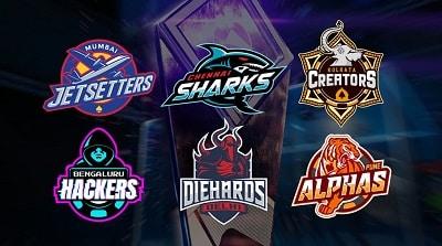 Global Poker League (GPL) India Season 1 Teams
