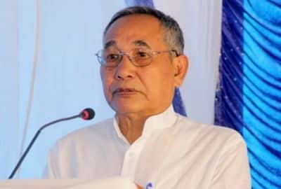 Deputy CM of Manipur Yumnam Joykumar Singh