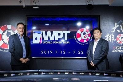 Danny McDonagh With CEO of CTP Dai Xingxiong
