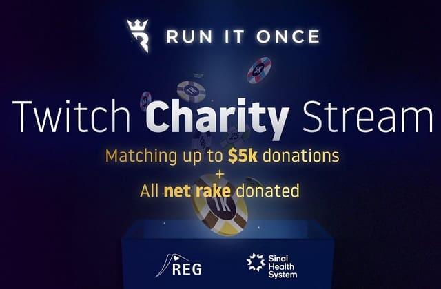 RIO Charity Stream Cover