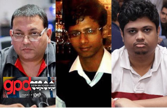 German Poker Days Main Event Day 1A & 1B - Manish Goenka, Prashanth Sekar & Sameer Tavanandi