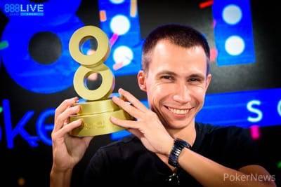 888poker LIVE Sochi Vasiliy Tsapko