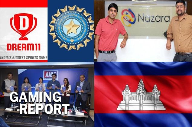 Dream11, Nazara Technologies, AIGF report on digital gaming