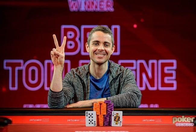 Ben Tollerene Wins BPO £100K NLH