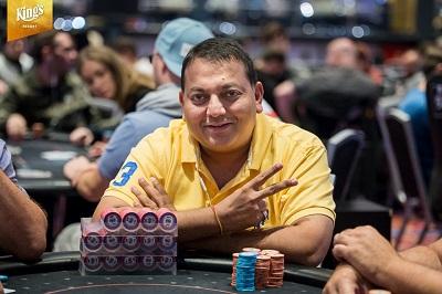 Manish Goenka - Day 2 of German Poker Days Main Event
