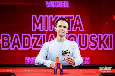Mikita Badziakouski wins £50K NLH