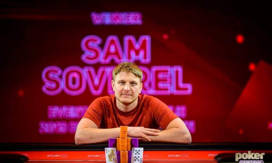 Sam Soverel wins BPO £25K NLH