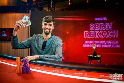 Sergi Reixach wins £25K NLH
