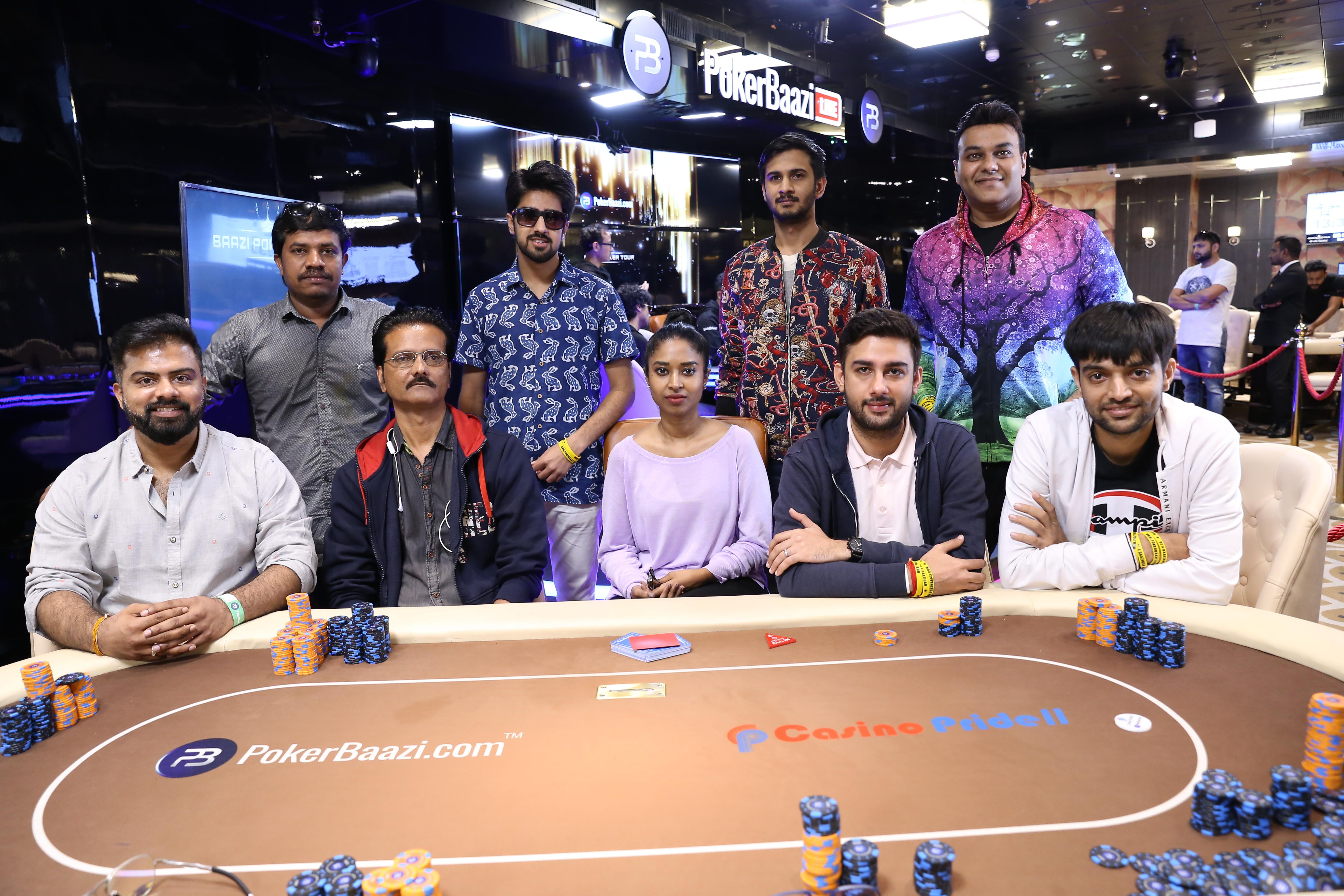 Baazi Poker Tour Big Bounty Final Table
