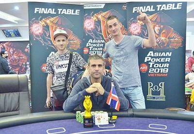 Stephane Carrier wins APT Vietnam Monster Stack 1