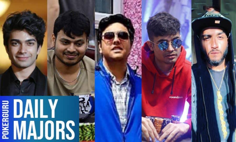 Anuj Yadav, Alok Birewar, Anmol Mehta, Laksh Pal Singh, Vishal Madan & Arsh Grover - Daily Majors