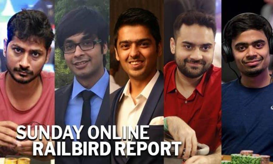 Phanindra Akkina, Vaibhav Temani, Kavish Kukreja, Rubin Labroo & Goonjan Mall - Sunday Online Railbird Report