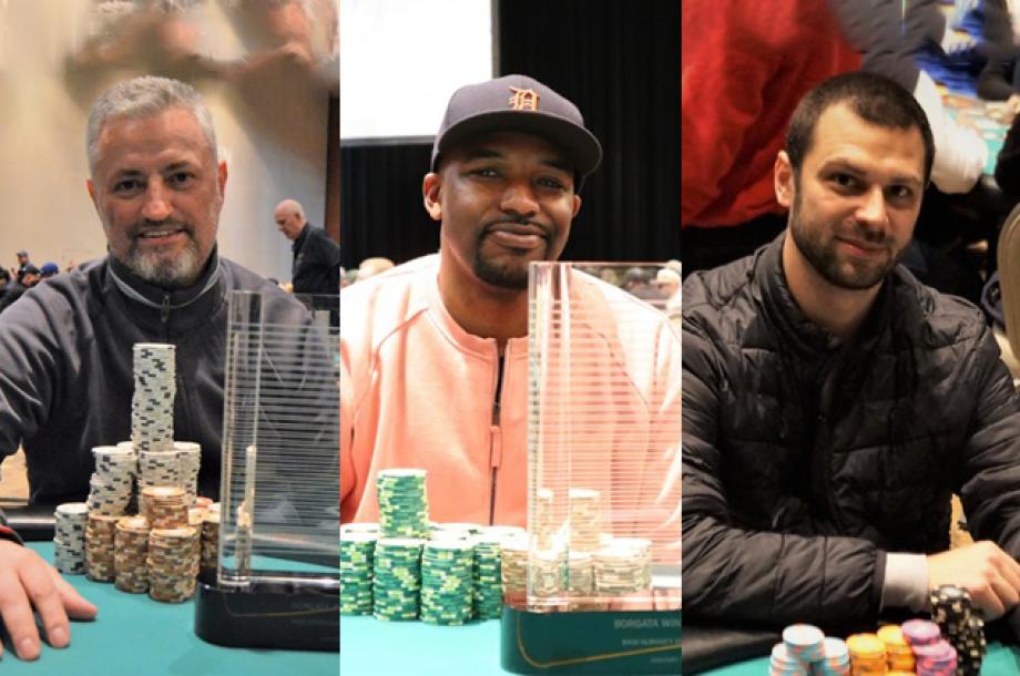 Borgata Winter Poker Open: Mandic & Marshall Win Titles; Anderson Leads 595 Survivors in Championship Event
