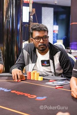 Runner-up Gokul Raj