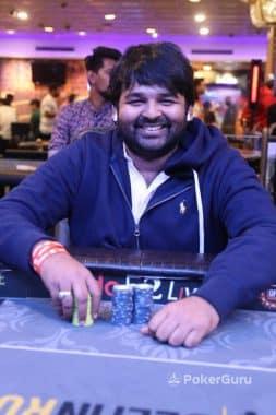 Runner-up Vivek Karwa