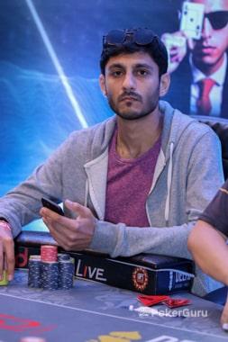 Runner-up Chirag Sodha