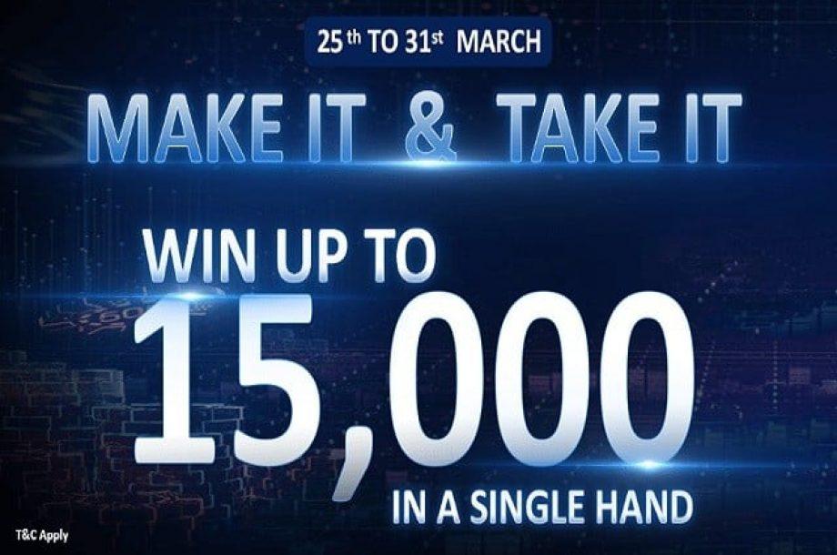 Poker Dangal Make it & Take It