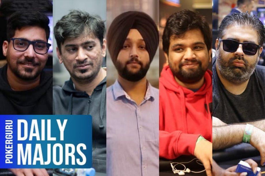 Nishant Sharma, Siddarth Singhvi, Harry Singh, Vivek Singh & Ashish Ahuja - Daily Majors