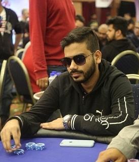 Runner-up Harsh Bubna