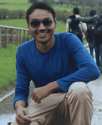 Runner-up Nishaanth Shanmughasundaram