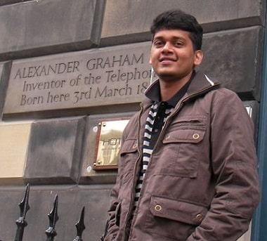 Runner-up Abhishek Chhajer
