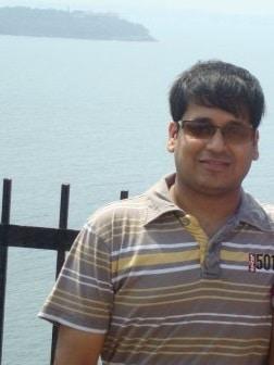 Runner-up Binit Saraf