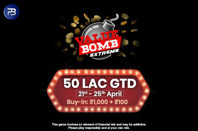 PokerBaazi announces ValueBomb Extreme