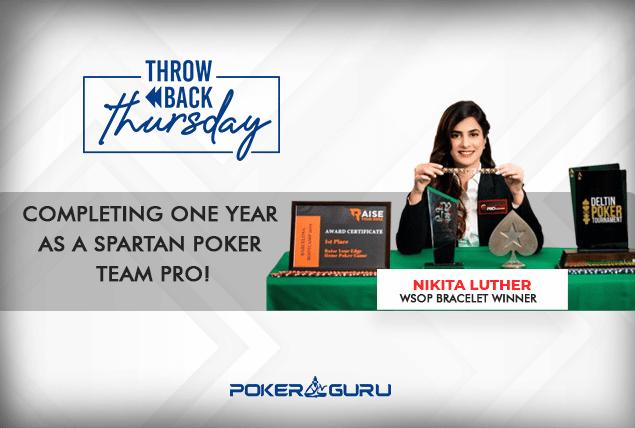Throwback Thursday - Nikita Luther - Spartan Poker Team Pro