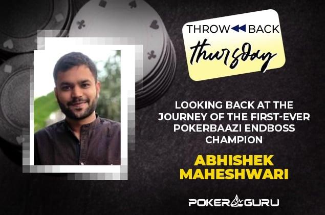 Abhishek Maheshwari Throwback Thursday